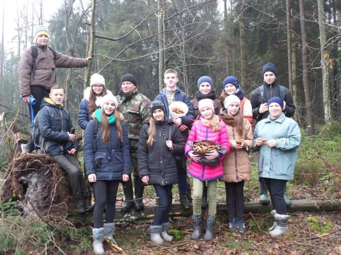 На Волині школярі допомагають заготовляти лісове насіння
