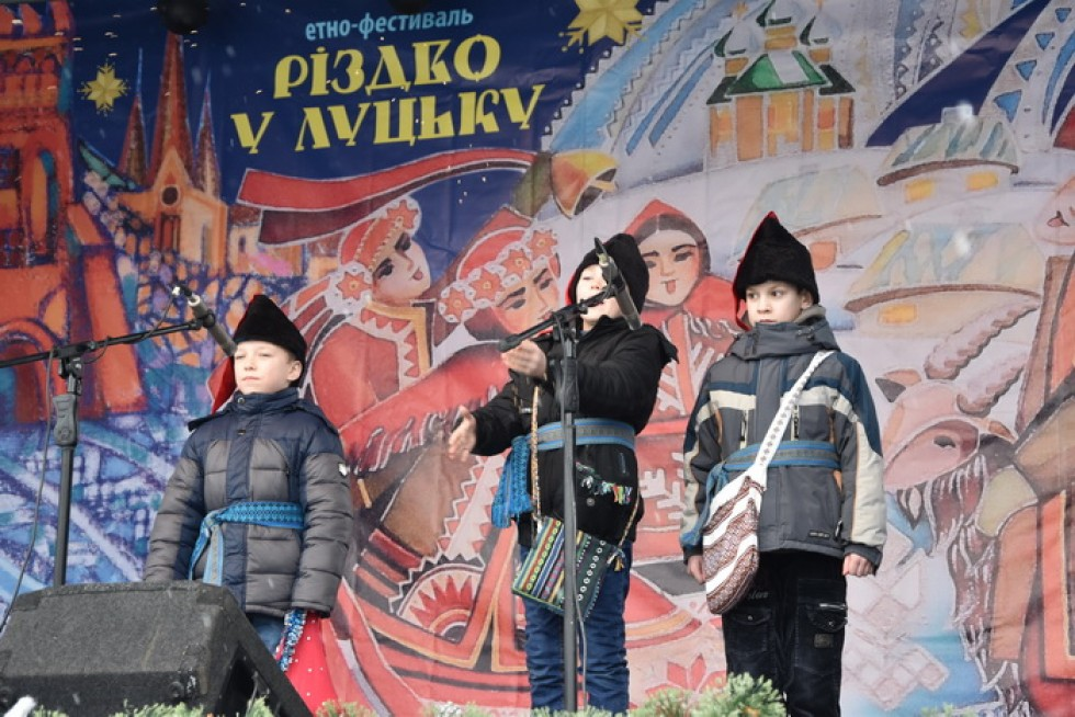 Повідомили програму фестивалю «Різдво у Луцьку»