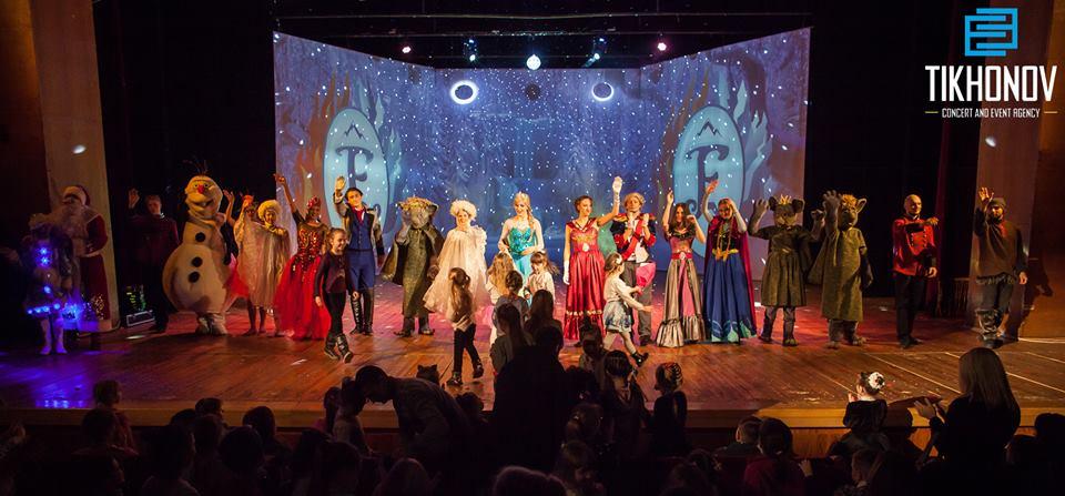 У Луцьку відбулося грандіозне шоу «Холодне серце». ФОТО