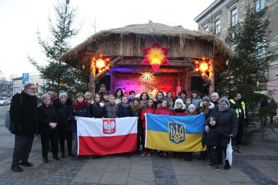 Діти волинських Героїв відвідали різдвяний Люблін. ФОТО