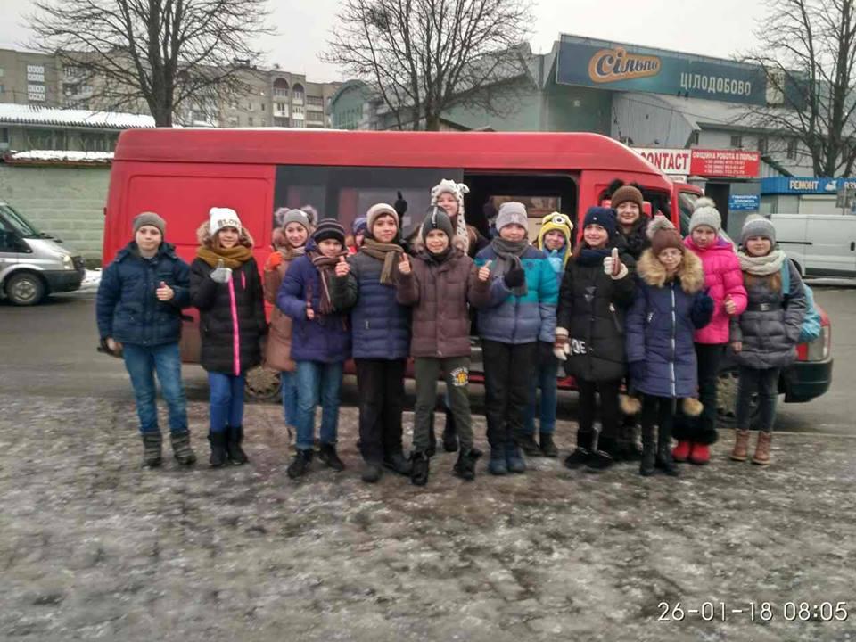 Діти волинських Героїв відправилися на відпочинок у Карпати