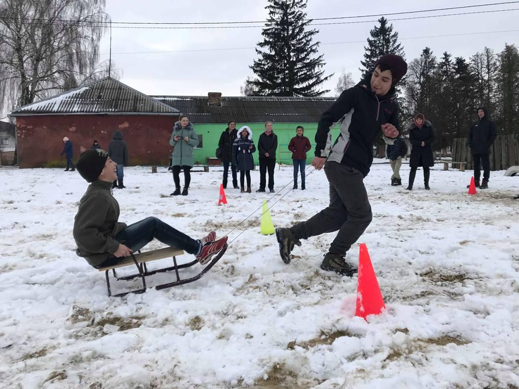 На Волині триває «Спортивна зима». ФОТО
