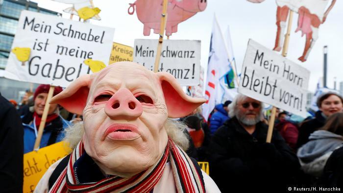 Десятки тисяч захисників природи провели акцію в центрі Берліна