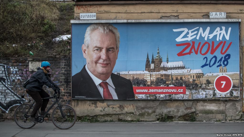 У Чехії почалися вибори президента