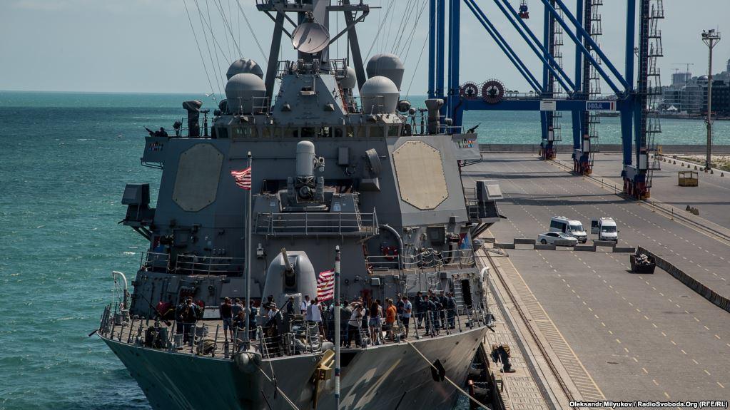 Перший у 2018 році корабель НАТО зайшов у порт Одеси