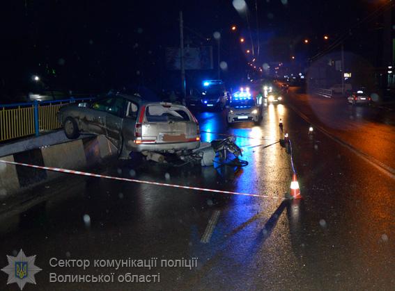 Поліція розпочала кримінальне провадження за фактом летального ДТП у Луцьку
