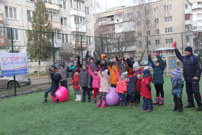 В одному з мікрорайонів Луцька відбулося спортивне свято. ФОТО