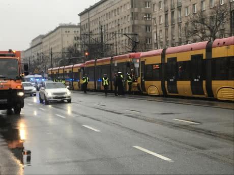 У Варшаві зіткнулися три трамваї, є постраждалі