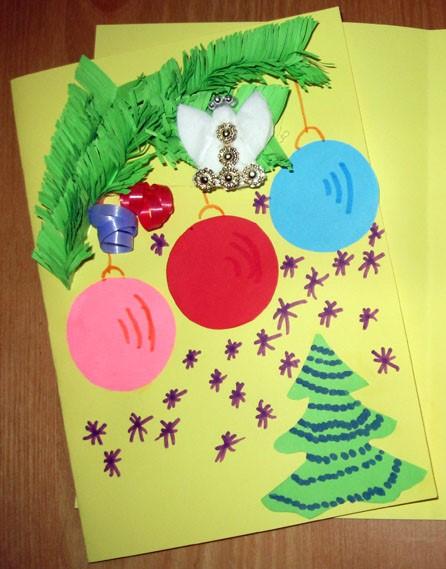 У Луцьку маленькі книголюби виготовляли різдвяні листівки для воїнів АТО