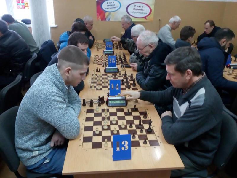 У Луцьку провели святковий шаховий турнір