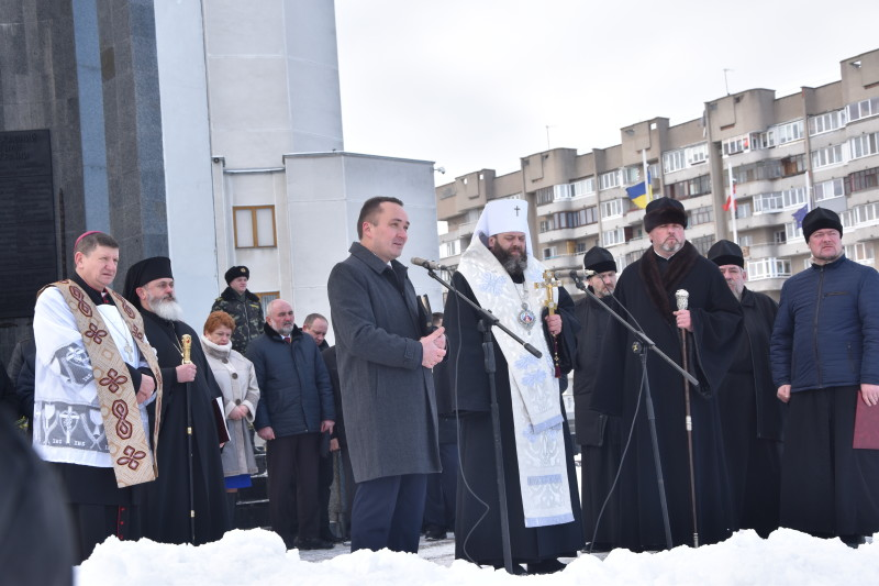 Лучани помолилися за Україну. ФОТО