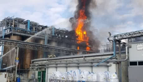 В Італії стався вибух на заводі хімічних відходів, є постраждалі