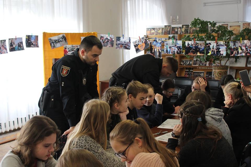 Як у Луцьку відзначили День патрульного поліцейського. ФОТО