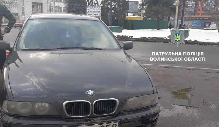 У Луцьку затримали водія, який став винуватцем ДТП і втік