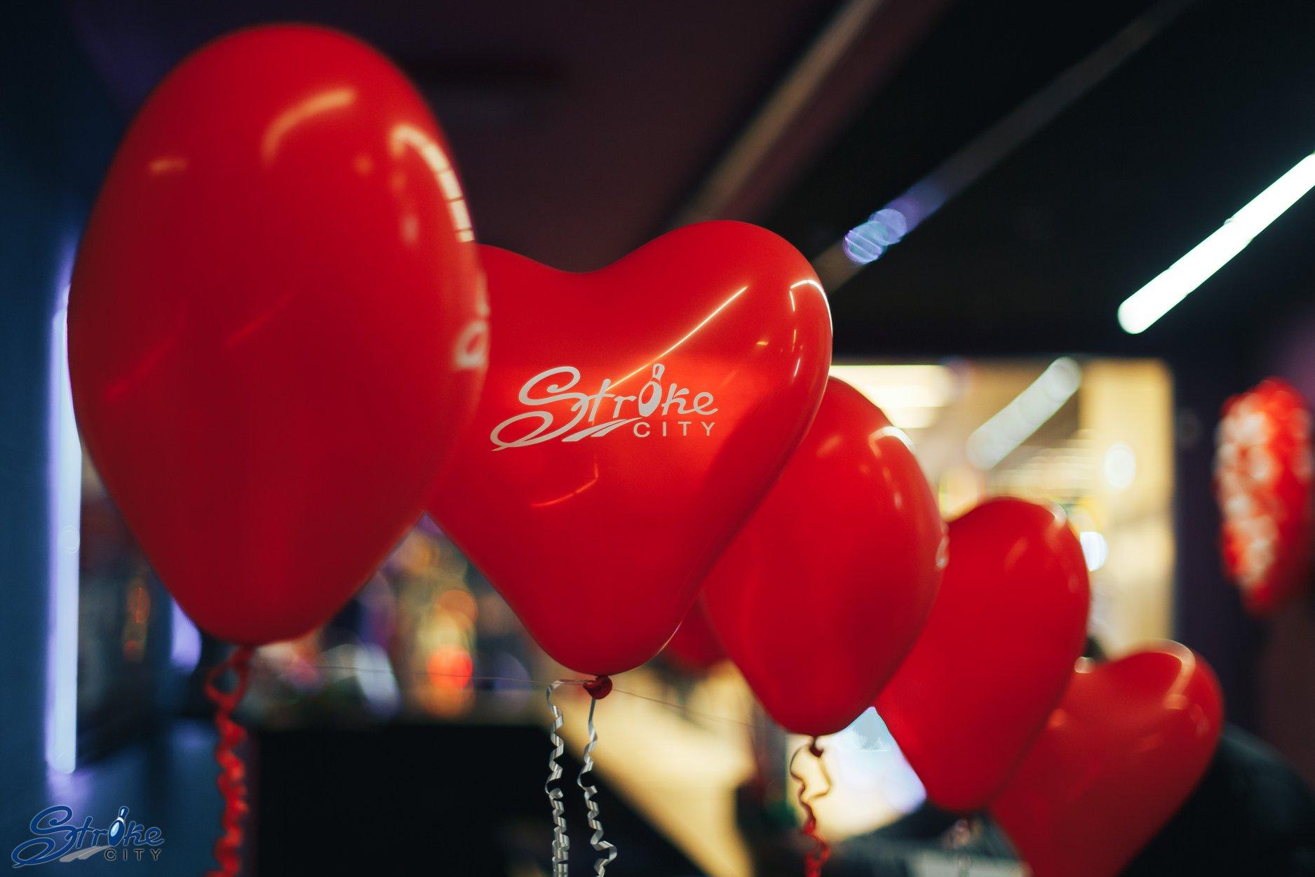 У луцькому боулінг-клубі відбулась вечірка для закоханих. ФОТО