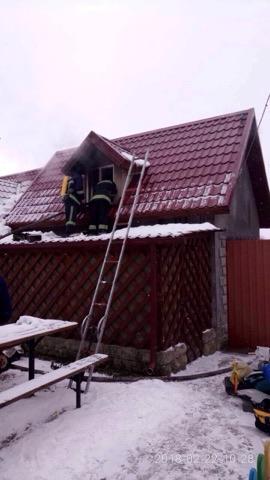 На Волині рятувальники ліквідували дві пожежі