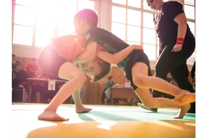У Луцьку вперше відбулися змагання з греплінгу. ФОТО