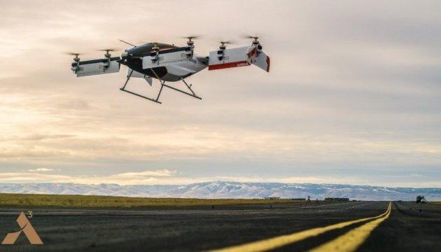 Безпілотне аеротаксі «Airbus» здійснило перший політ
