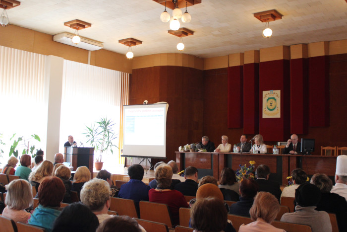 У Луцьку обговорили результати роботи галузі охорони здоров'я