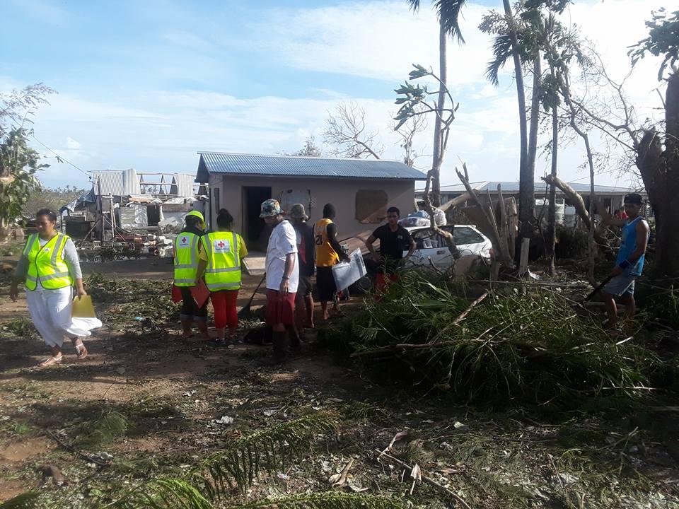 Тропічний циклон у Тихому океані зруйнував понад 70 % будинків у столиці Тонга