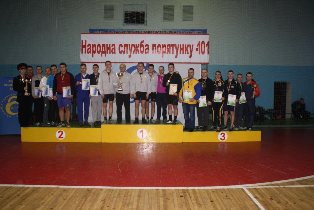 Волинь виборола срібні медалі на чемпіонаті ДСНС України з гирьового спорту