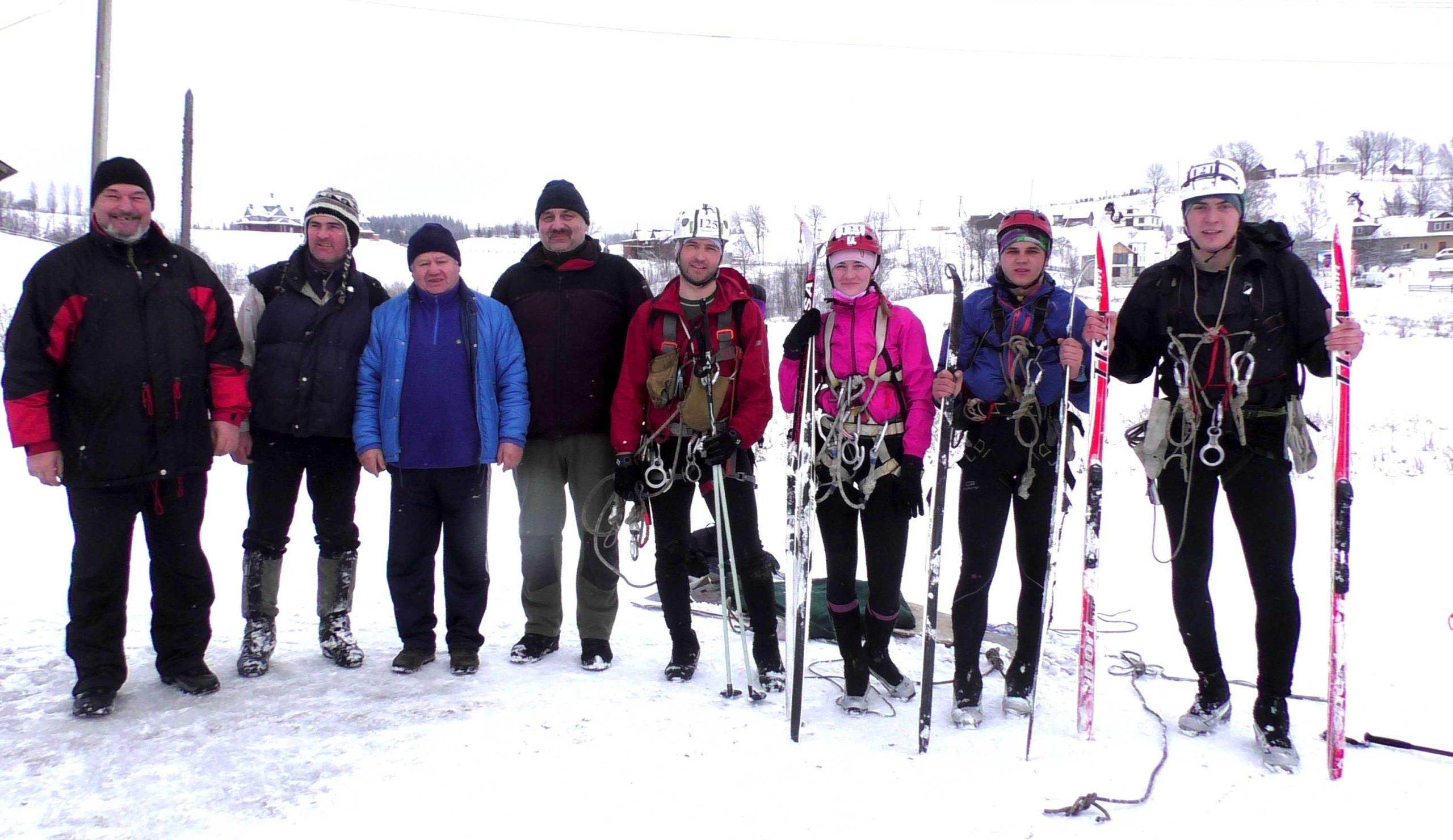 Волиняни здобули перемогу на Кубку України з лижного туризму. ФОТО