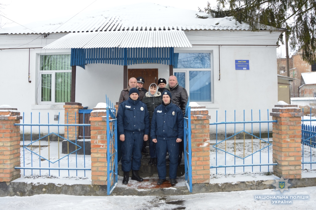 На Волині відкрили першу поліцейську станцію. ФОТО