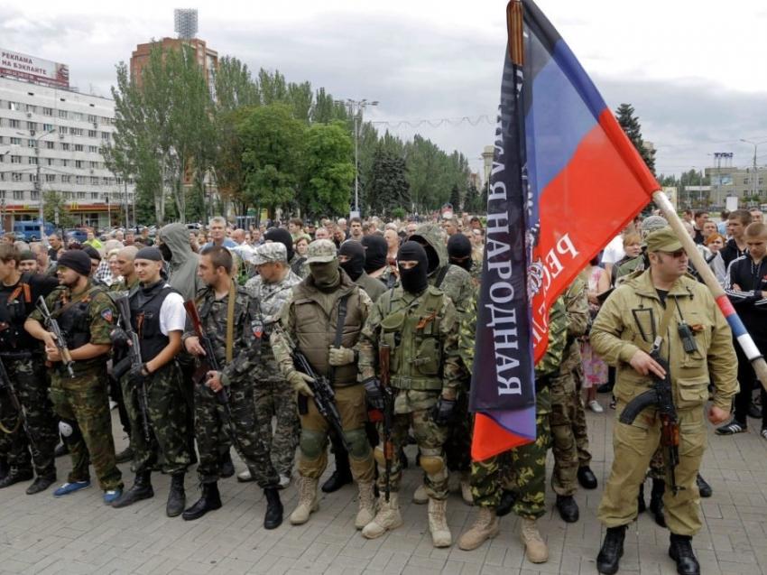 У Кривому Розі вивісять прапори «Новоросії»