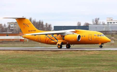 У Росії розбився пасажирський літак