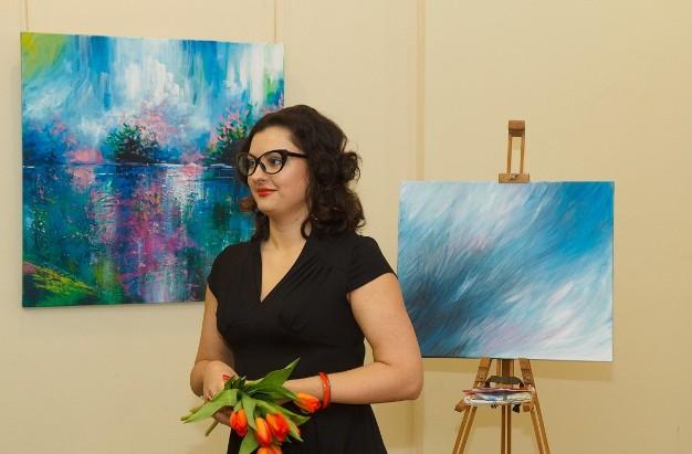 Луцька художниця покаже, чого можна навчитись від квітів