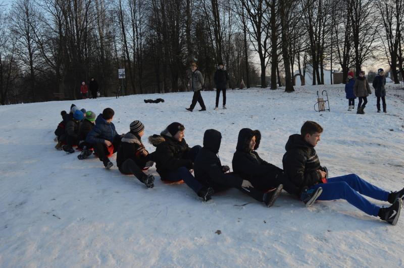 Як проходить «Спортивна зима» в Луцьку. ФОТО