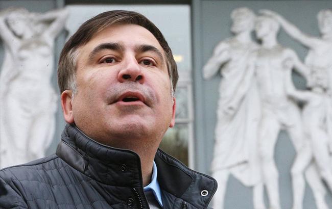 Саакашвілі затримали у київському ресторані. ВІДЕО