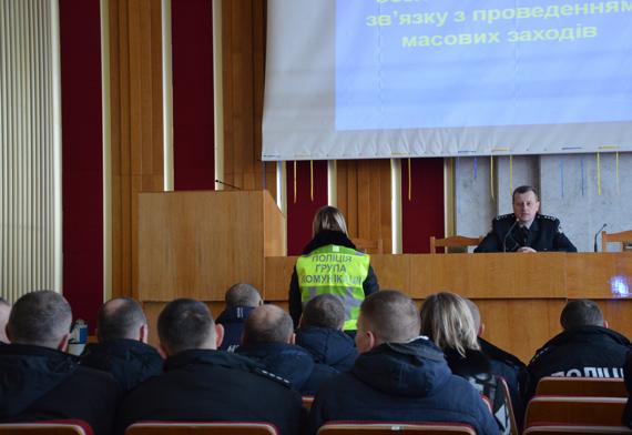 Волинські поліцейські тренувалися вести перемовини