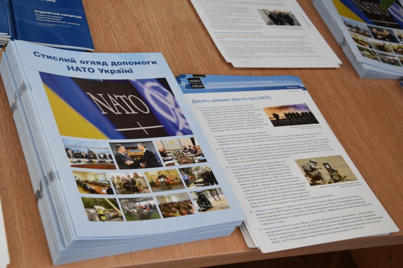 У Луцьку відкрили виставку, присвячену партнерству НАТО і України. ФОТО