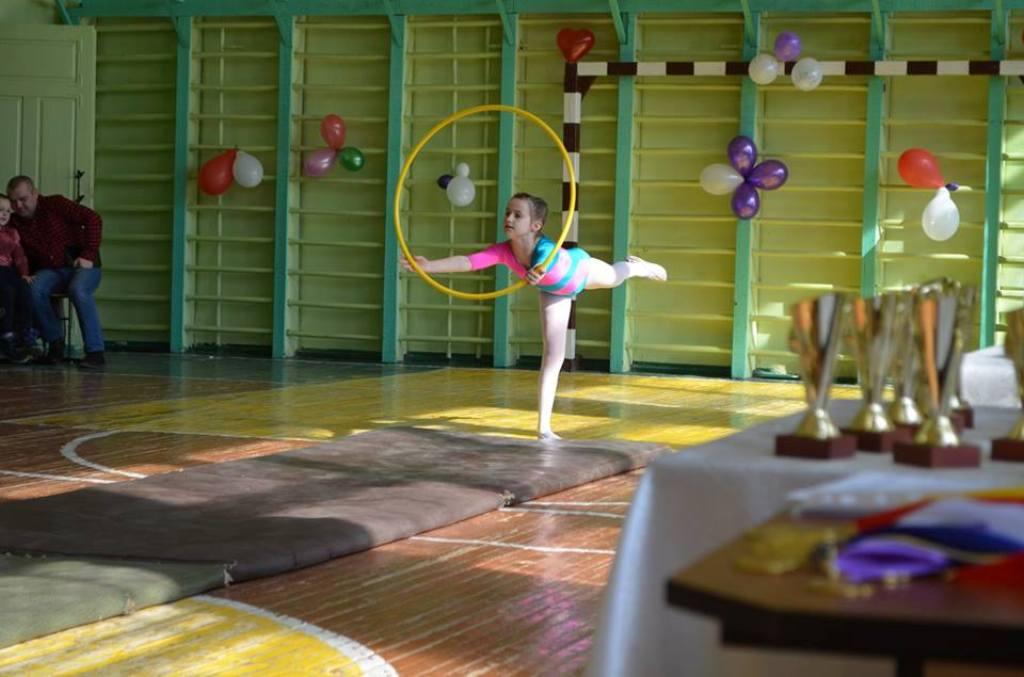 Юні акробати демонстрували свою майстерність на фестивалі у Камені-Каширському. ФОТО