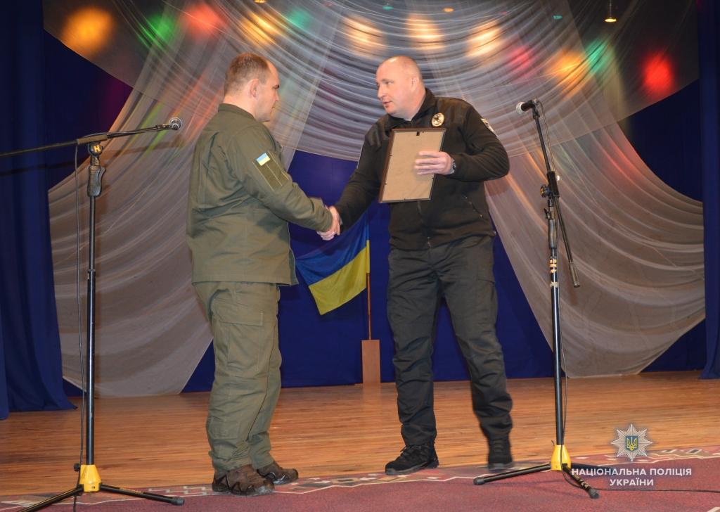 Волинських військовослужбовців привітали з нагоди річниці Нацгвардії України. ФОТО