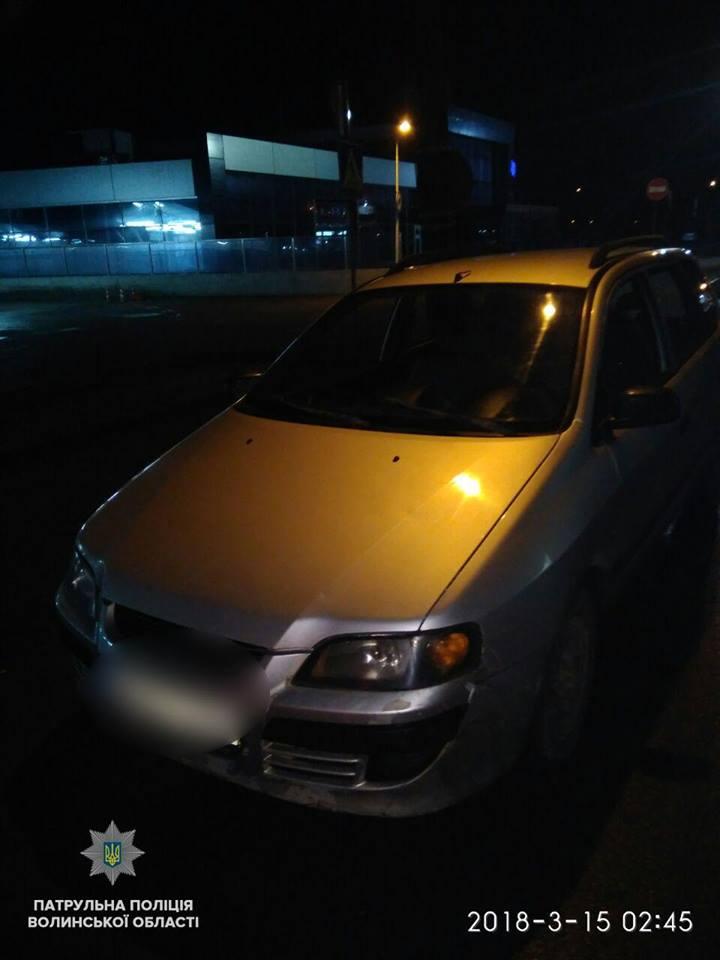 У Луцьку затримали двох нетверезих водіїв. ФОТО