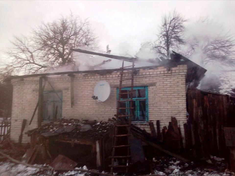 На Волині у пожежі загинув пенсіонер