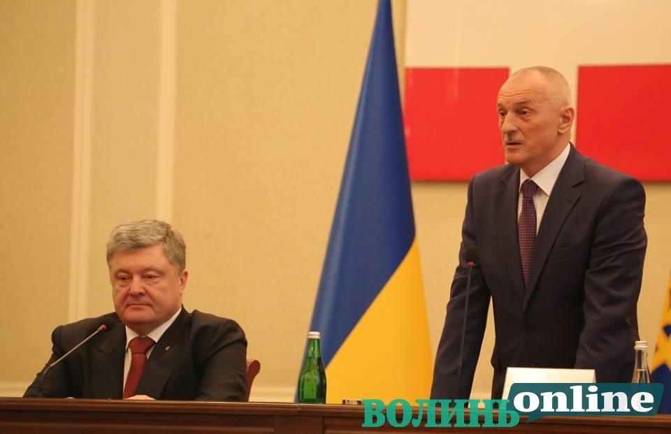 Президент представив нового очільника Волинської ОДА