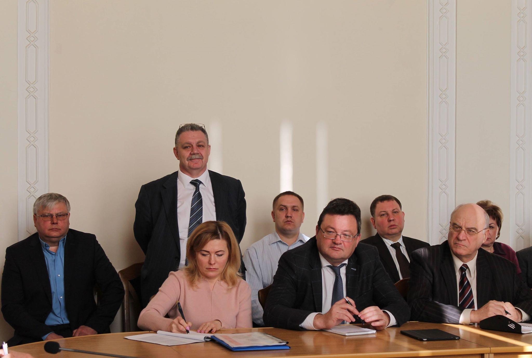 Голова облдержадміністрації представив трьох нових радників