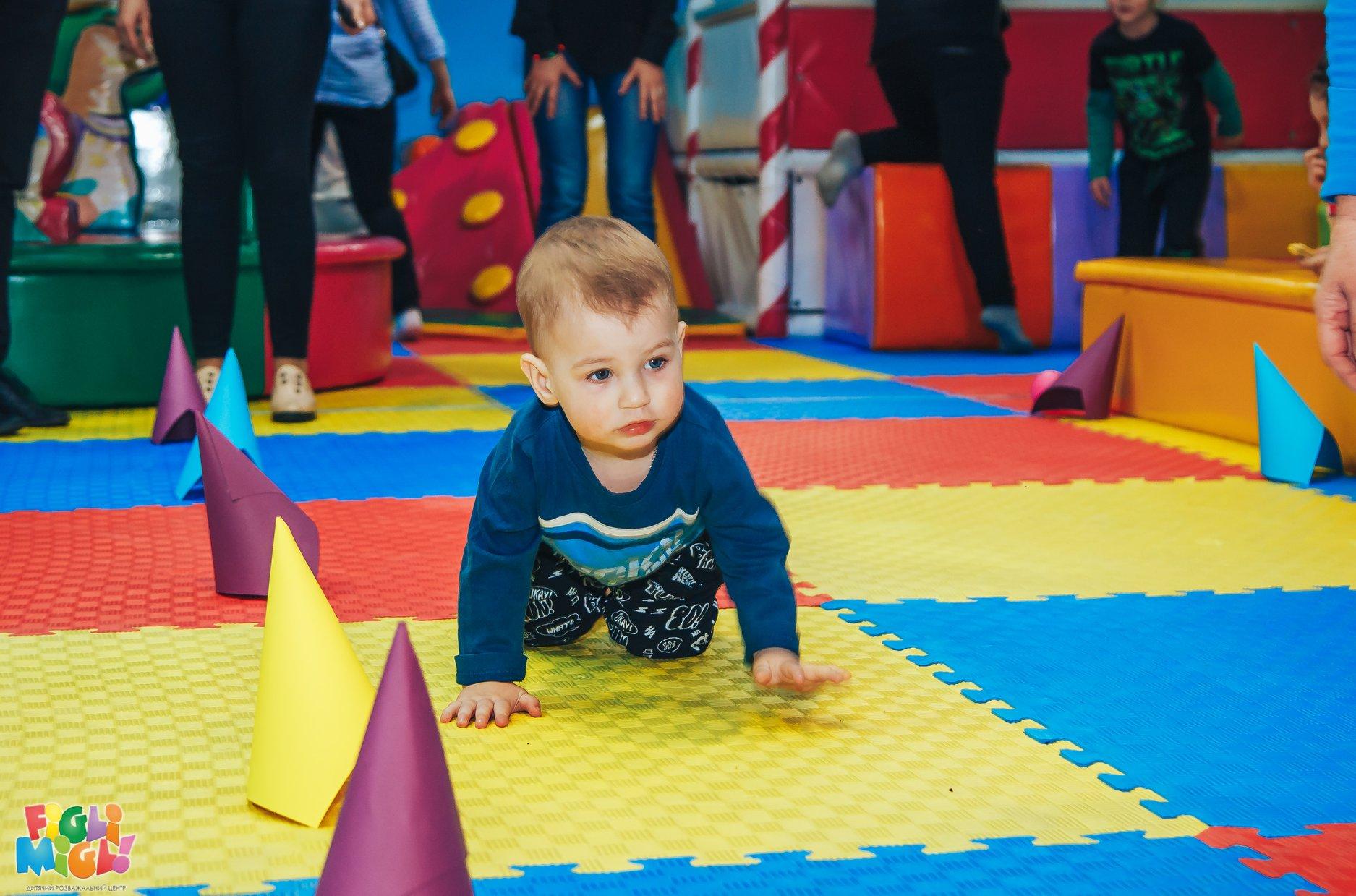 Луцький дитячий розважальний центр влаштував забіг малюків. ФОТО