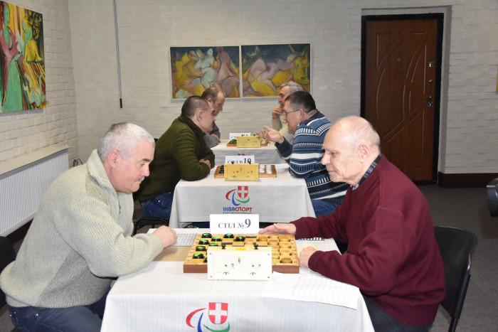 У Луцьку – чемпіонат України із шашок серед людей із вадами зору. ФОТО
