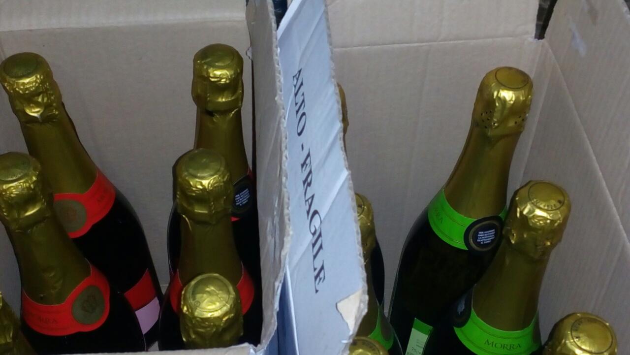 На Волині фіскали вилучили контрафактного алкоголю на вісім тисяч гривень