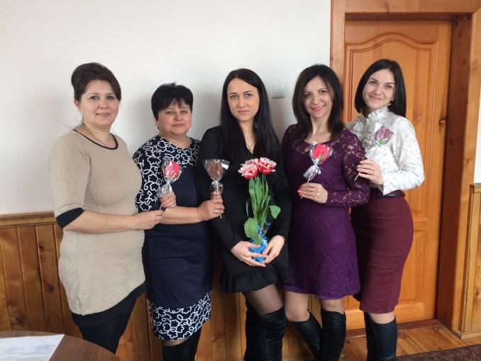 Жінки лісової галузі Волині отримали нагороди до свята. ФОТО