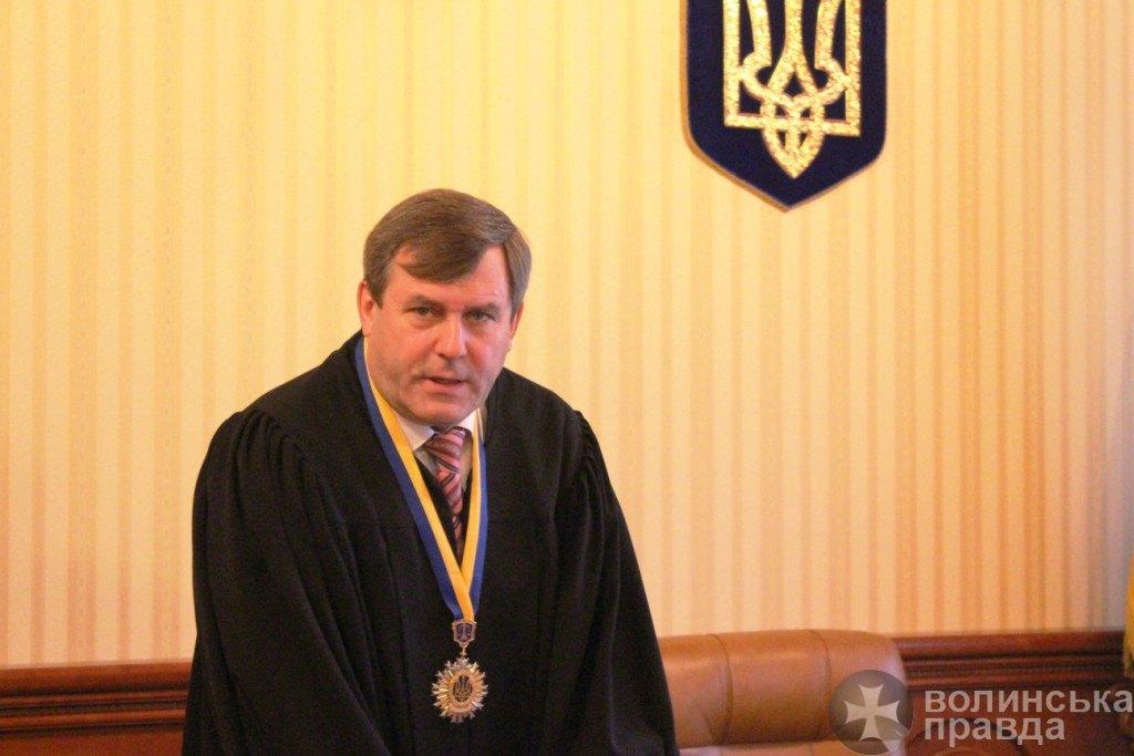 Голова волинського суду має шість земельних ділянок та будинок під Луцьком