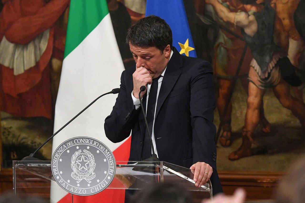 Лідер «Демократичної партії» в Італії Ренці йде у відставку