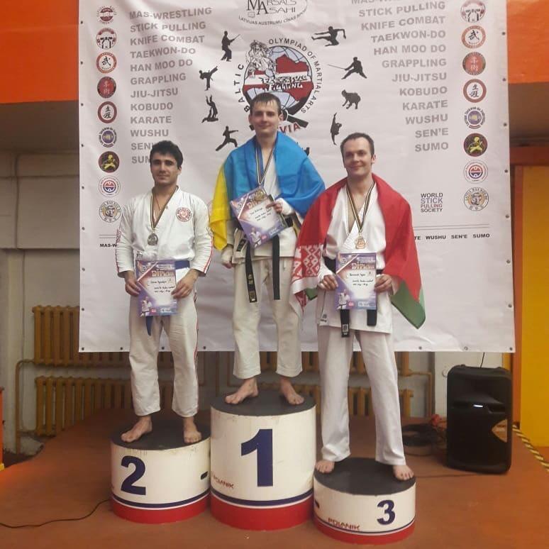 Студент луцького вишу виборов «золото» на міжнародному турнірі з карате