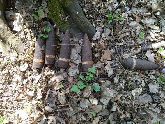 Волинські піротехніки знешкодили 25 боєприпасів часів минулих воєн