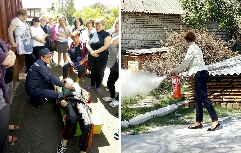 У луцьких дитсадках працівників навчали долікарської допомоги