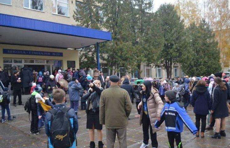 У школі Вінниці розпилили газ: шестеро учнів постраждали